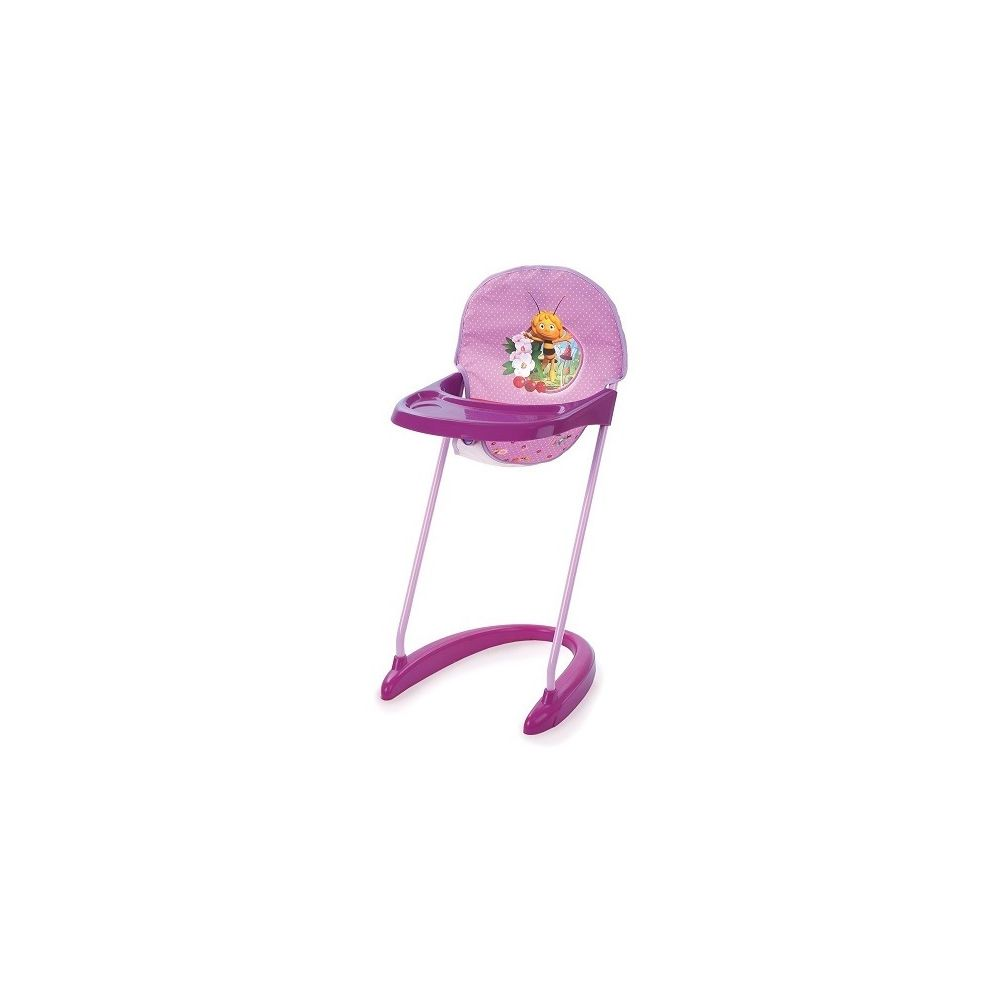 Hauck Chaise Haute Maya l Abeille Pour Poupee - Hauteur de l Assise : 35 cm - Pour Poupons Jusqu A 42 Cm - Accessoire - Mobili