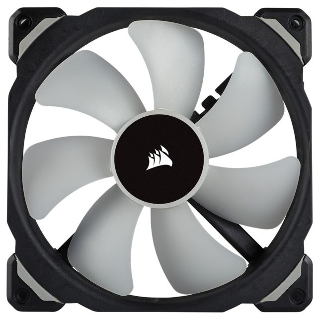 Ventilateur Pour Boîtier  CORSAIR ML140 PRO RGB, 140mm Premium Magnetic Levitation RGB LED PWM Fan, Single Pack
