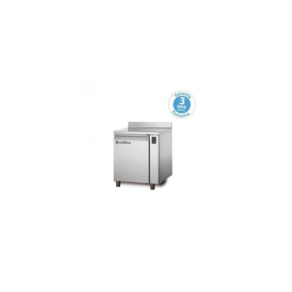 Materiel Chr Pro Table réfrigérée négative - sans groupe - 1 porte - 145 litres - profondeur 800 - 600 x 400 - avec dosseret -