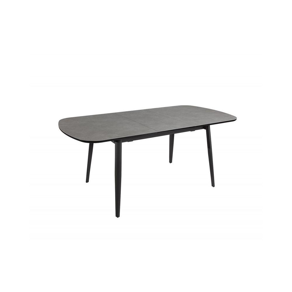 Meubletmoi Table céramique de repas extensible 140/180 cm - PIXI