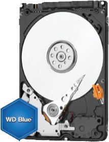 Western Digital - WD BLUE 1 To - 2.5'' SATA III 6 Go/s - Cache 128 Mo - Bleu - Disque Dur interne