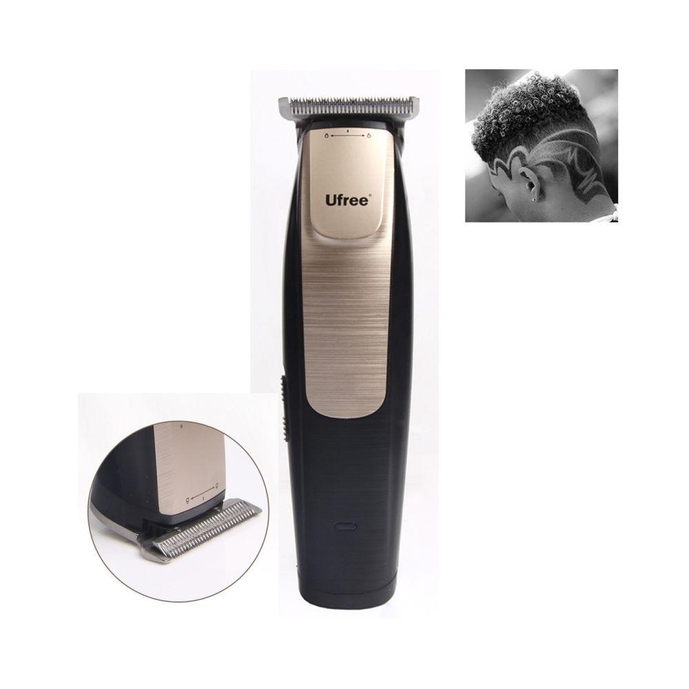 Wewoo Tondeuse à cheveux à avec texte gravé rechargeable professionnel de salon coiffure, fiche UE