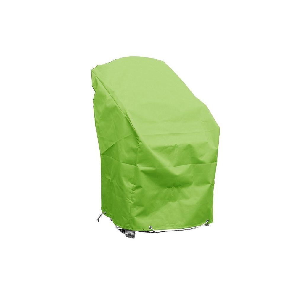 Green Club Housse chaises empilables L70xl65xh70 vert