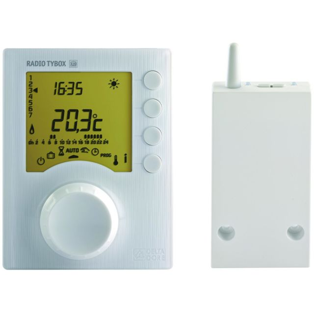 Delta Dore - Thermostat DELTA DORE TYBOX 137 programmable radio 6053007 - Energie connectée