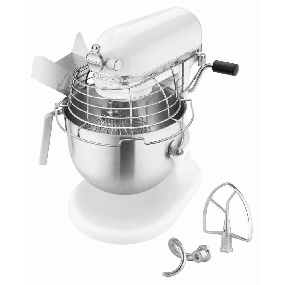 Bartscher Robot KitchenAid professional 1,3 HP 5KSM7990XEWH BLANC