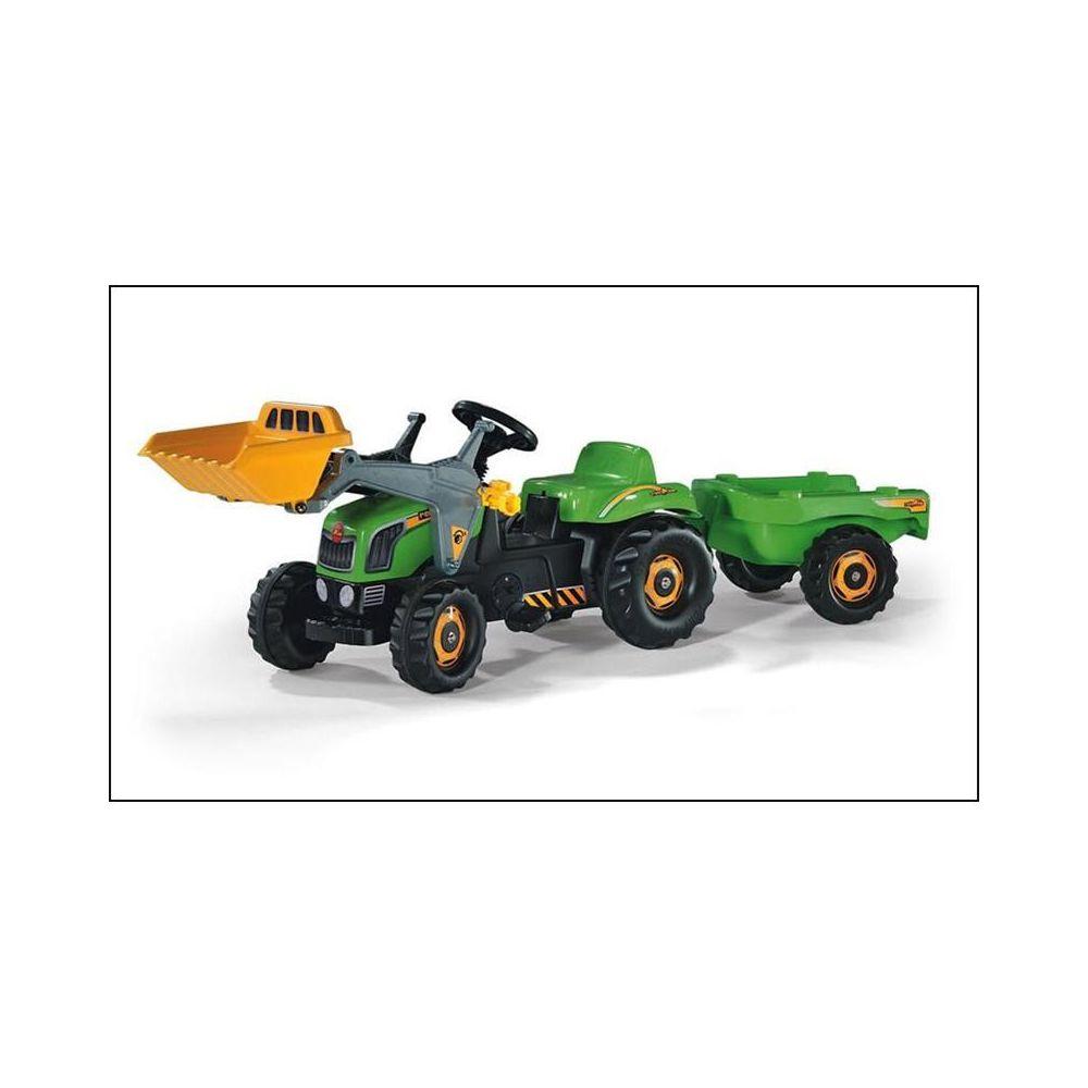 Rolly Toys Rolly Toys 023134 Tracteur pour enfants RollyKid avec godet et remorque