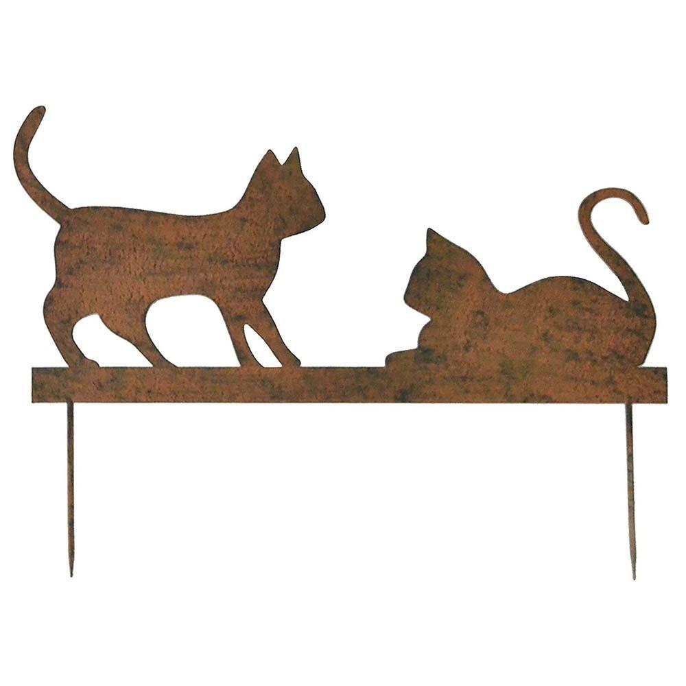 La Grande Prairie Silhouette couple chats sur pique
