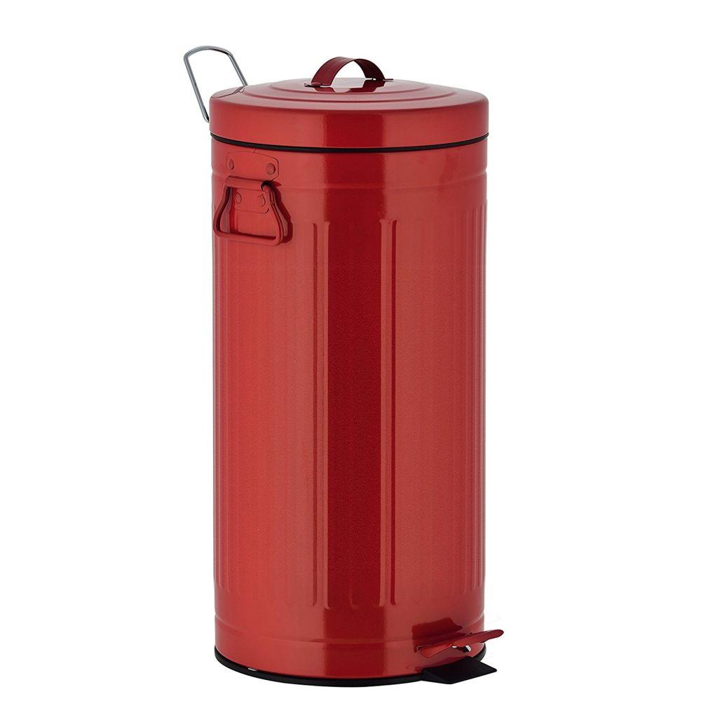 Kitchen Move kitchen move - poubelle à pédale 30l rouge - 927250e red as