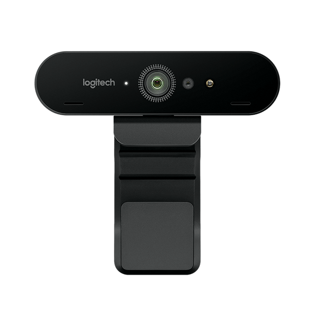 Logitech - Webcam 4K Ultra HD avec RightLight™ 3 avec image HDR - Matériel Streaming