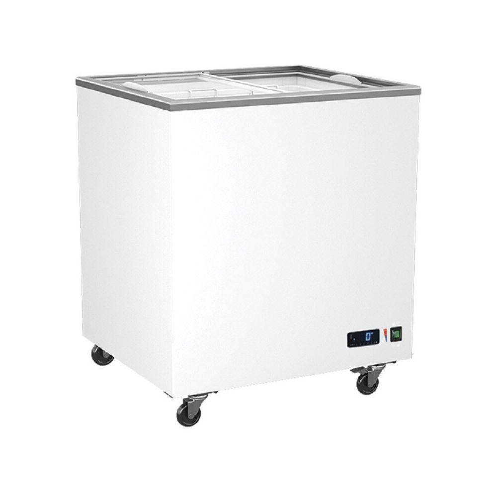 Materiel Chr Pro Congélateur Vitrées Portes Coulissantes - 208 à 640 Litres - Virtus - R600A 208 litres 763 mm