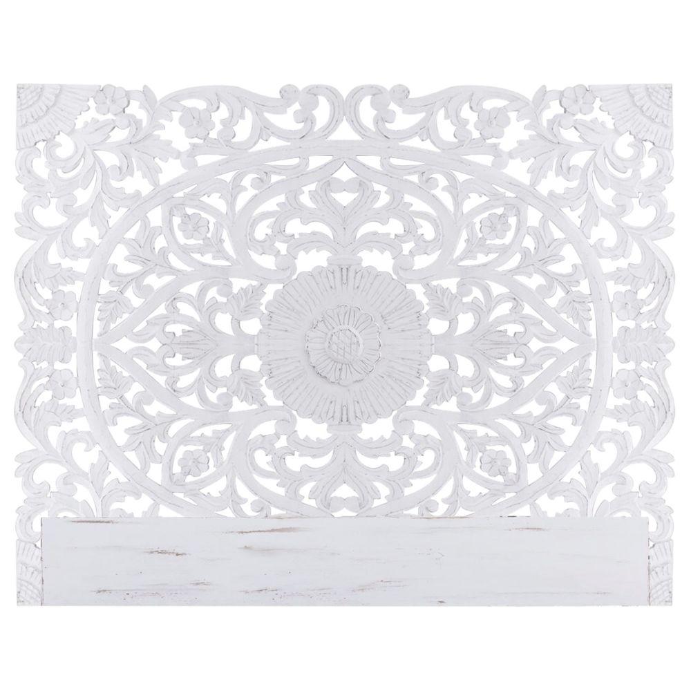 MENZZO Tête de lit Flora 180cm Bois Blanc