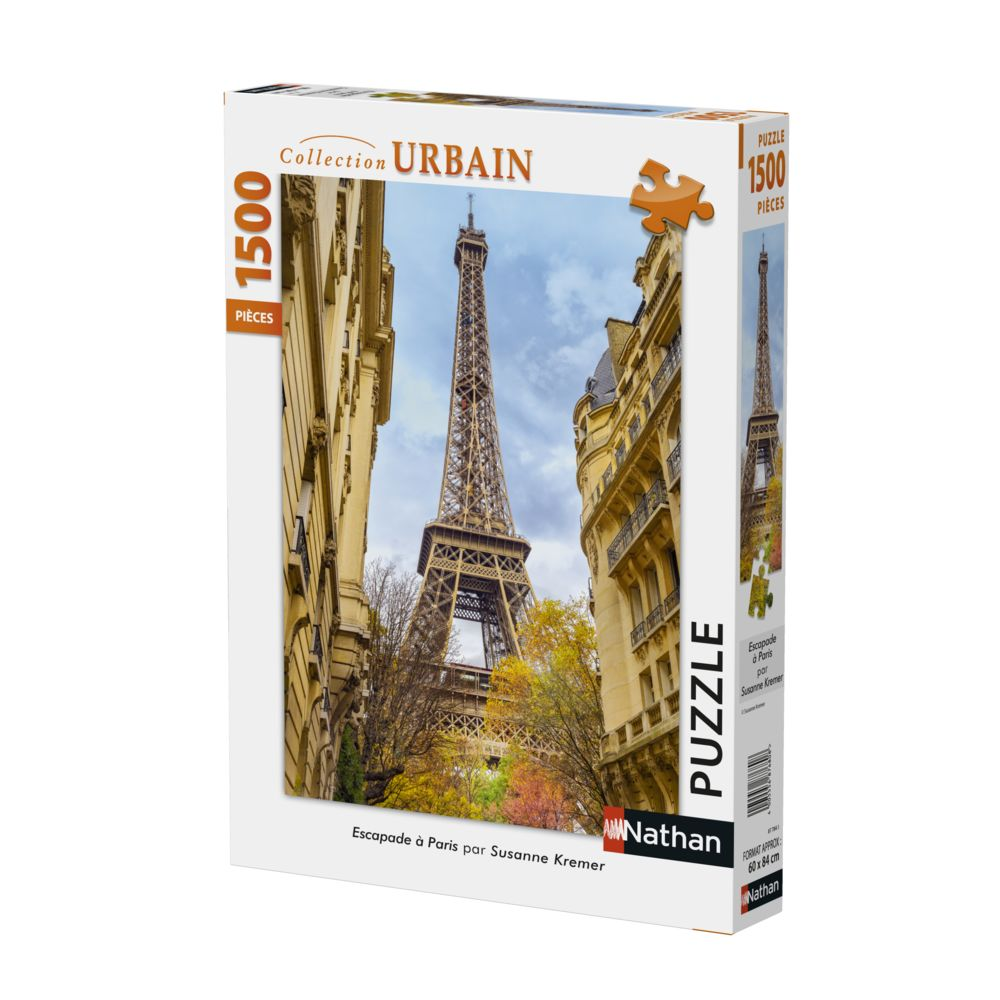 Nathan 1500p Escapade à Paris - 87784