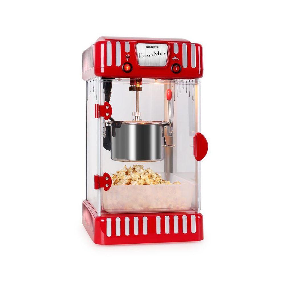 Klarstein Klarstein Volcano Machine à popcorn style rétro bol acier inox 74ml 300w Klarstein