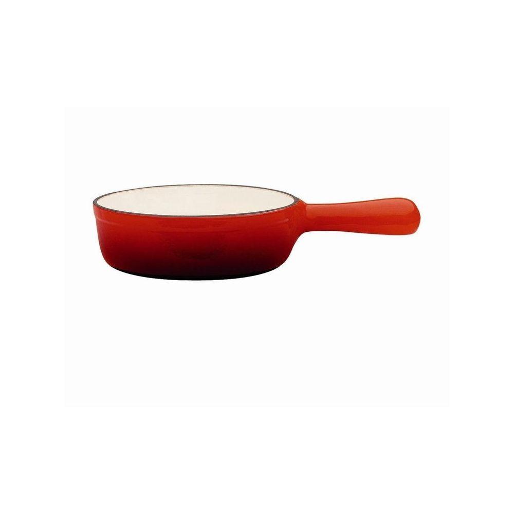 Baumalu Caquelon rouge pour fondue savoyarde les Hivernales