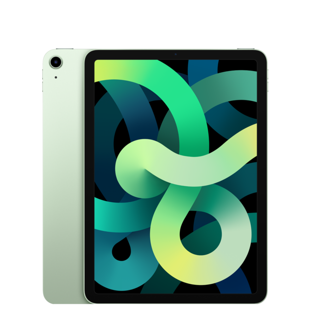"Apple - iPad Air (Gen 4) - 10,9"""" - Wi-Fi + Cellular - 256 Go - Vert - Tablette tactile"