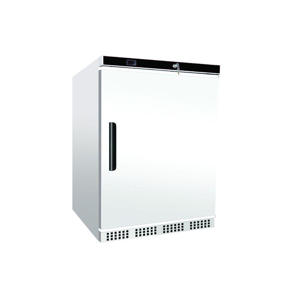 Materiel Chr Pro Mini Armoire Réfrigérée Positive Porte Pleine - 130 Litres - AFI Collin Lucy - R600A 1 Porte