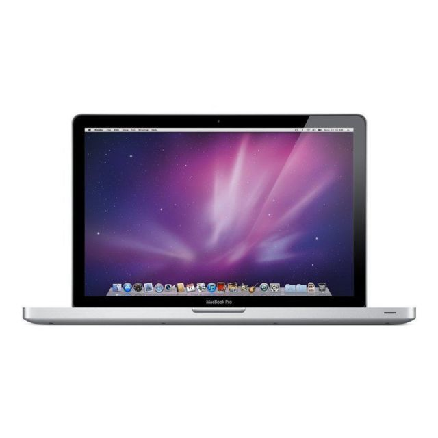 "Apple - MacBook Pro 13"""" (Mi-2010) - Core 2 Duo 2,4 GHz - HDD 500 Go - 4 Go AZERTY - Français - Ordinateur portable reconditionné"