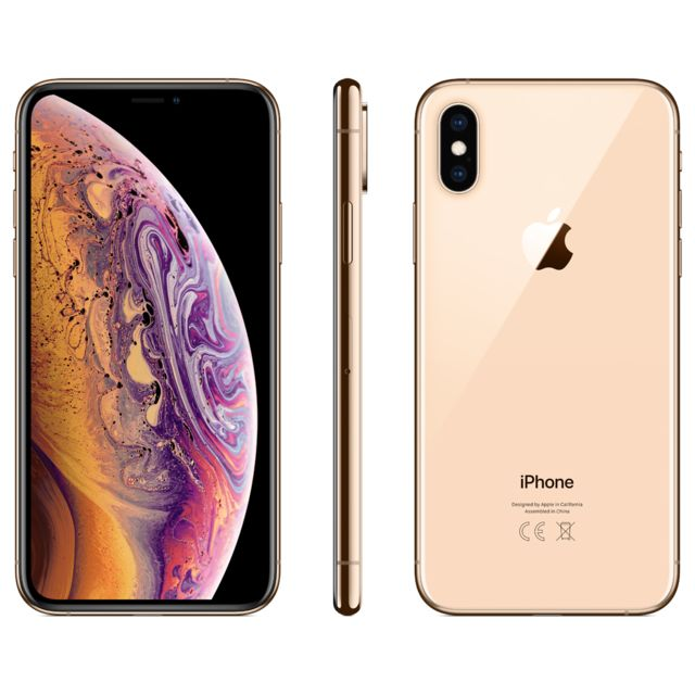 Apple - iPhone XS - 256 Go - MT9K2ZD/A - Or - iPhone 256 go