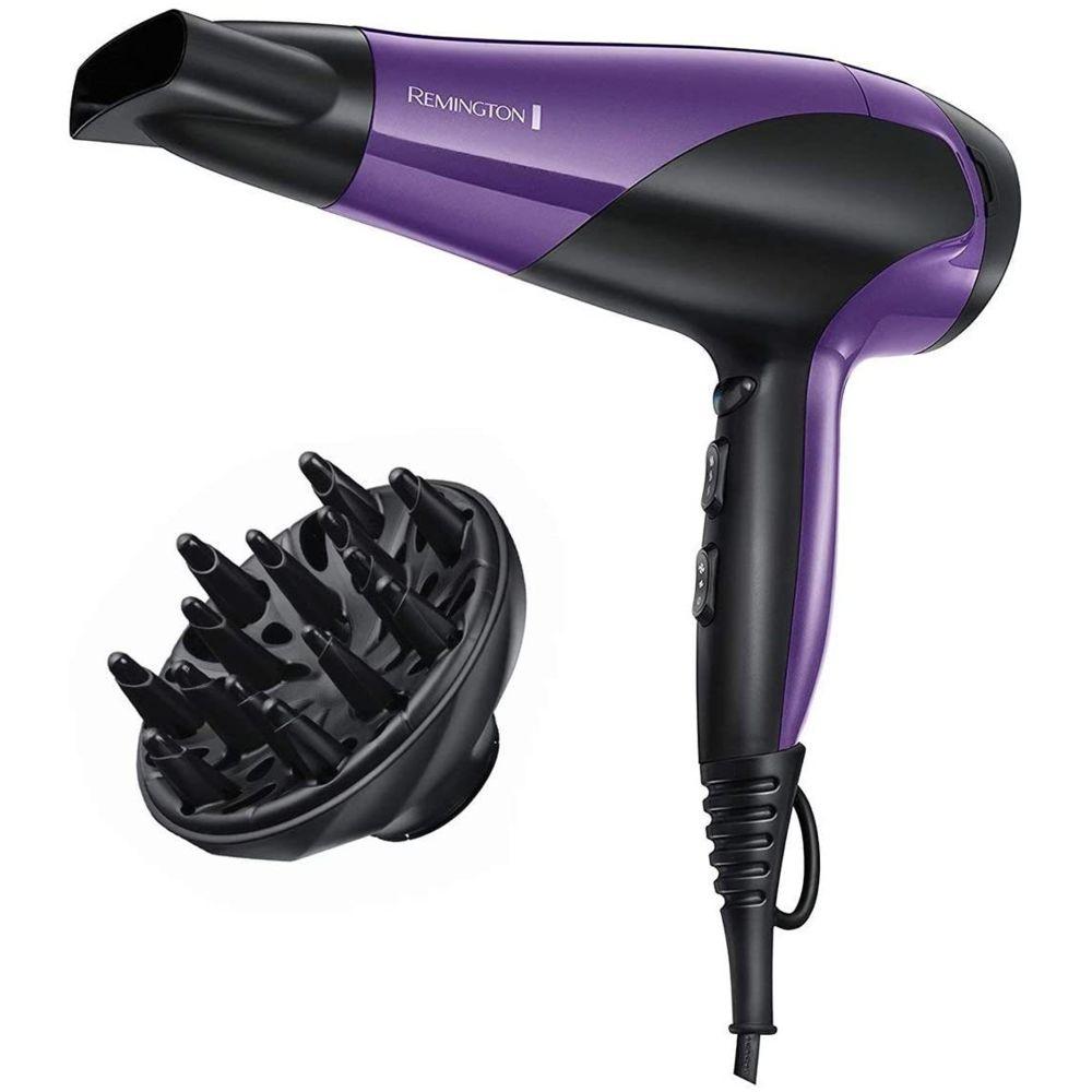Remington Sèche Cheveux Compact ionique 2200W violet noir