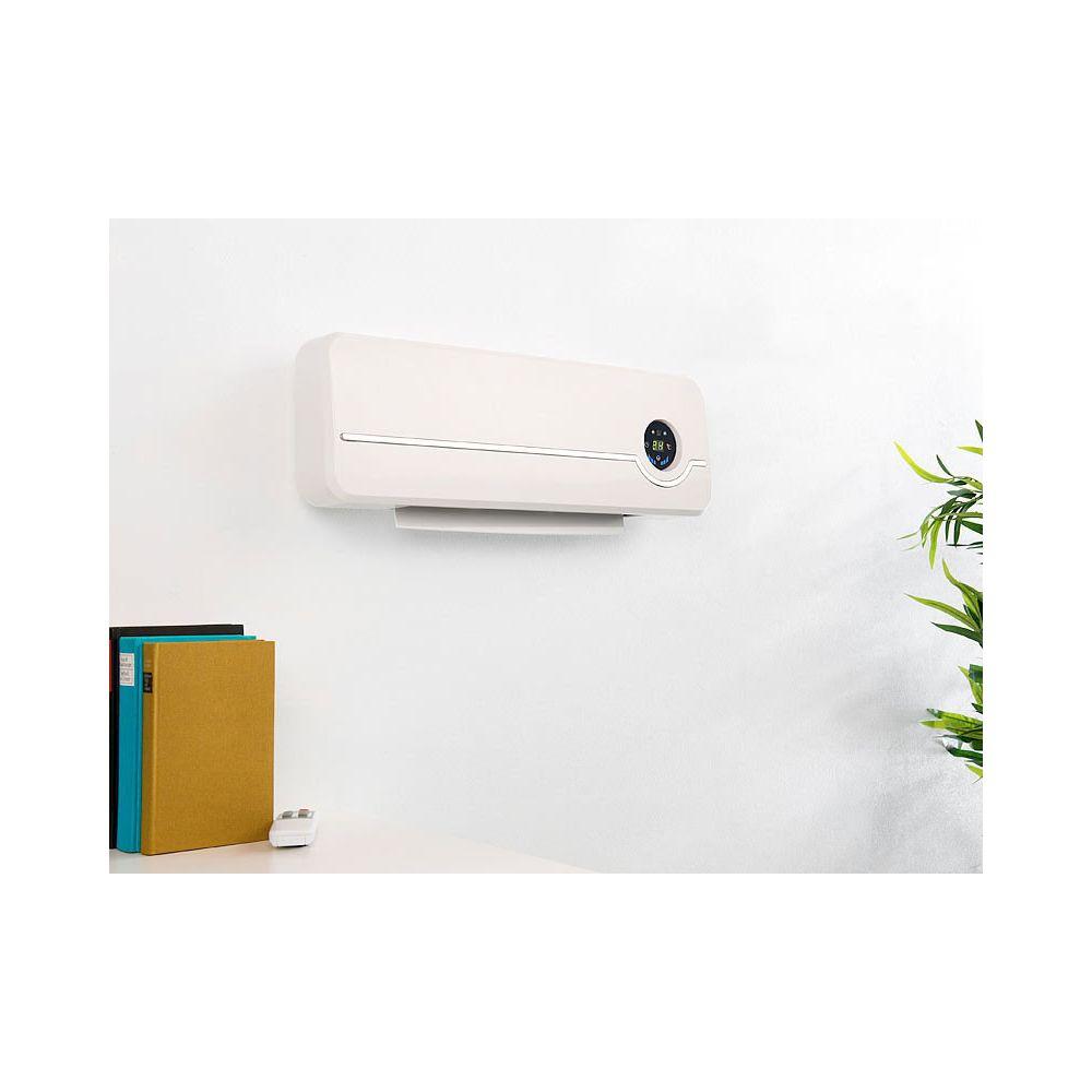 Sichler Haushaltsgerate Radiateur soufflant céramique mural 2000 W avec thermostat numérique LV-700.W