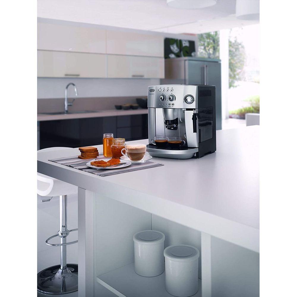 Delonghi machine à expresso avec broyeur pour Café en grains et moulu 1450W gris