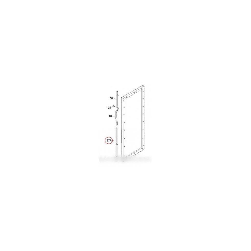 Electrolux Listeau poignee blanc inferieure pour réfrigérateur electrolux