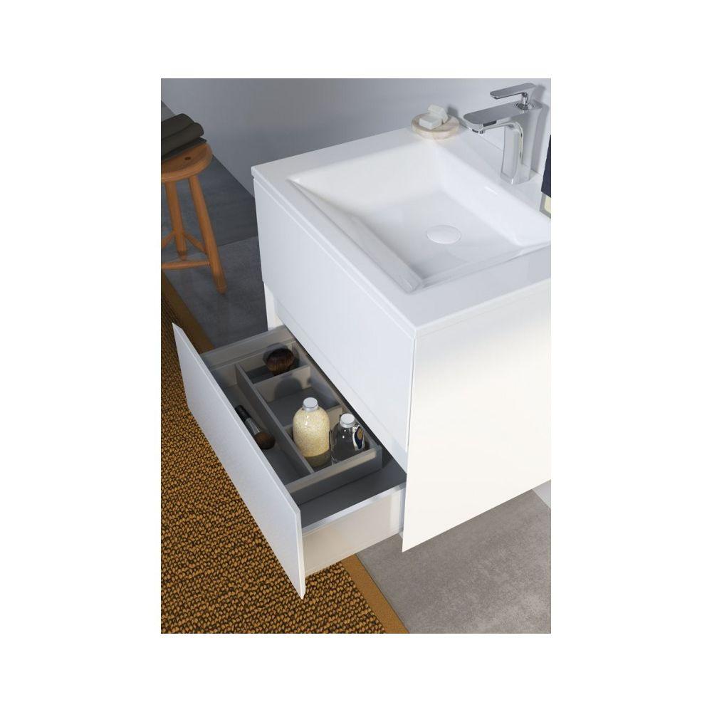 Riho Ensemble meuble & lavabo RIHO ARDEA SET 01 en bois 60x47,5x H 56 cm - Bois laqué brillant