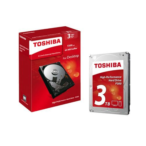 Toshiba - P300 3 To - Disque Dur interne