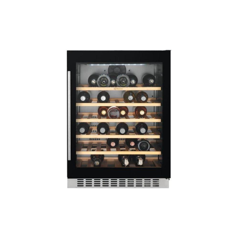 Electrolux Electrolux Erw1573aoa -cave A Vin De Service-52 Bouteilles-encastrable-froid Brasse-a-l 60 X H 82,2 Cm