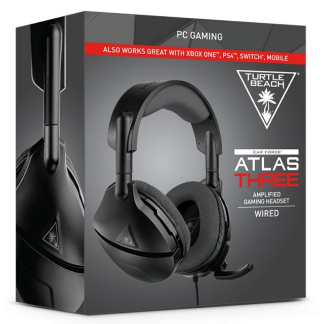 Turtle Beach - ATLAS THREE - Filaire Turtle Beach   - Micro casque reconditionné