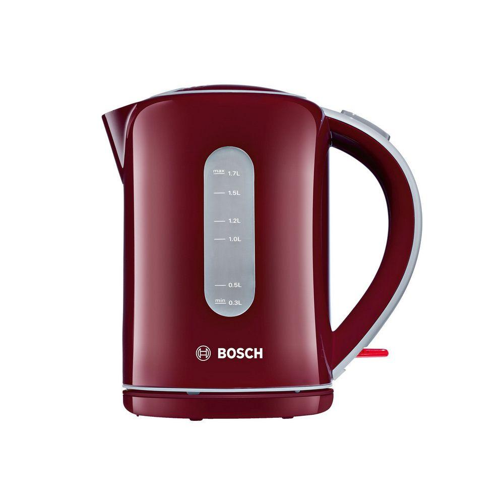 Bosch bosch - bouilloire sans fil 1.7l 2200w rouge - twk7604