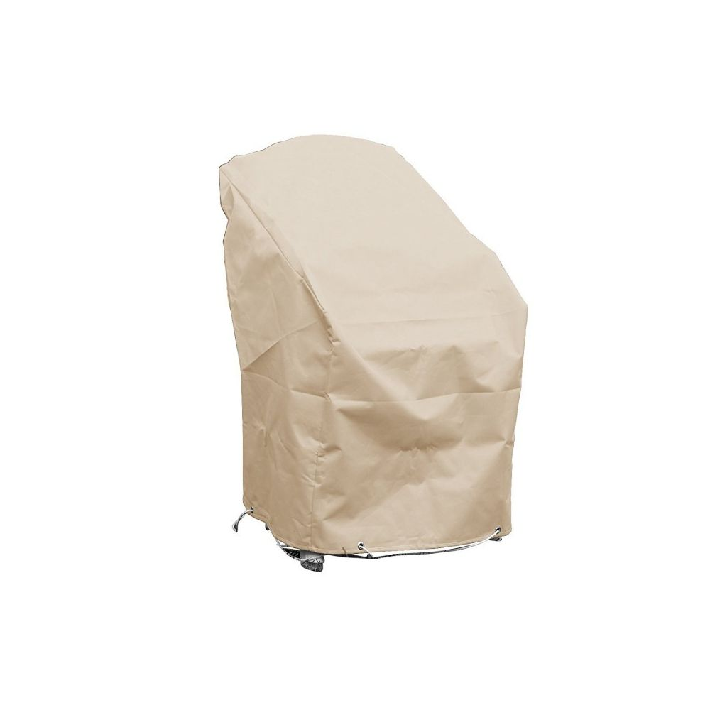 Green Club Housse chaises empilables L70xl65xh70 beige