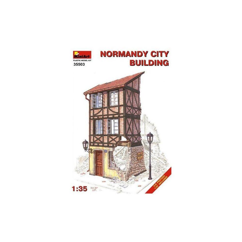 Mini Art Norman City Building - Décor Modélisme
