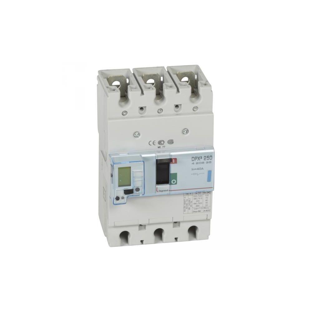 Legrand Legrand 420635 - Disjoncteur puissance dpx³ 250 - 40A 3P 70kA - électronique