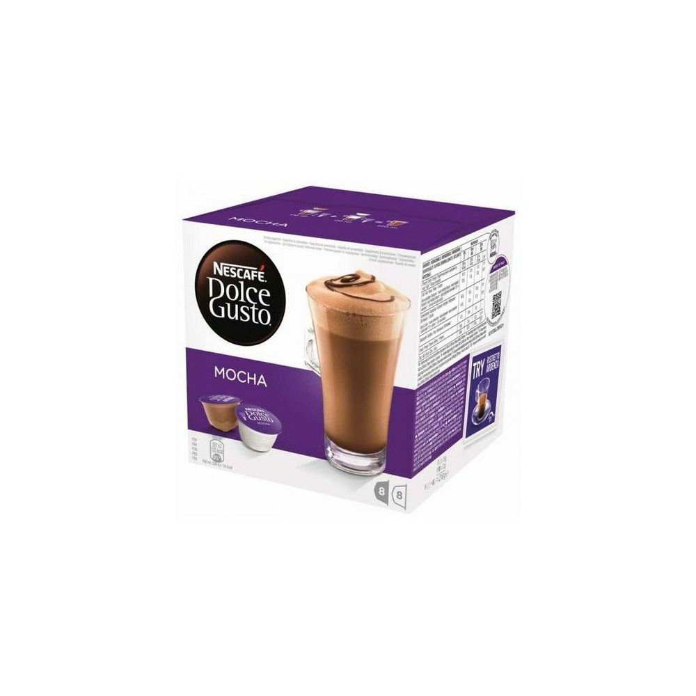 Dolce Gusto Capsules de café avec étui Nescafé Dolce Gusto 49523 Mocha (16 uds)