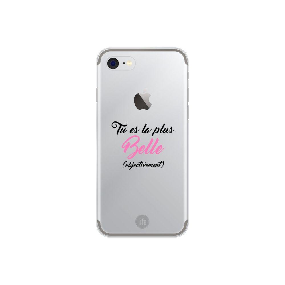 Muvit - Muvit Life Coque Looove Case Belle Objectivement Apple Iphone 7