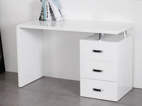 Marque generique bureau stanislas avec rangements 3 tiroirs