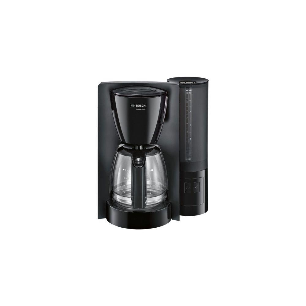 Bosch BOSCH Cafetière Filtre 15 Tasses Aroma+ Noir TKA6A043