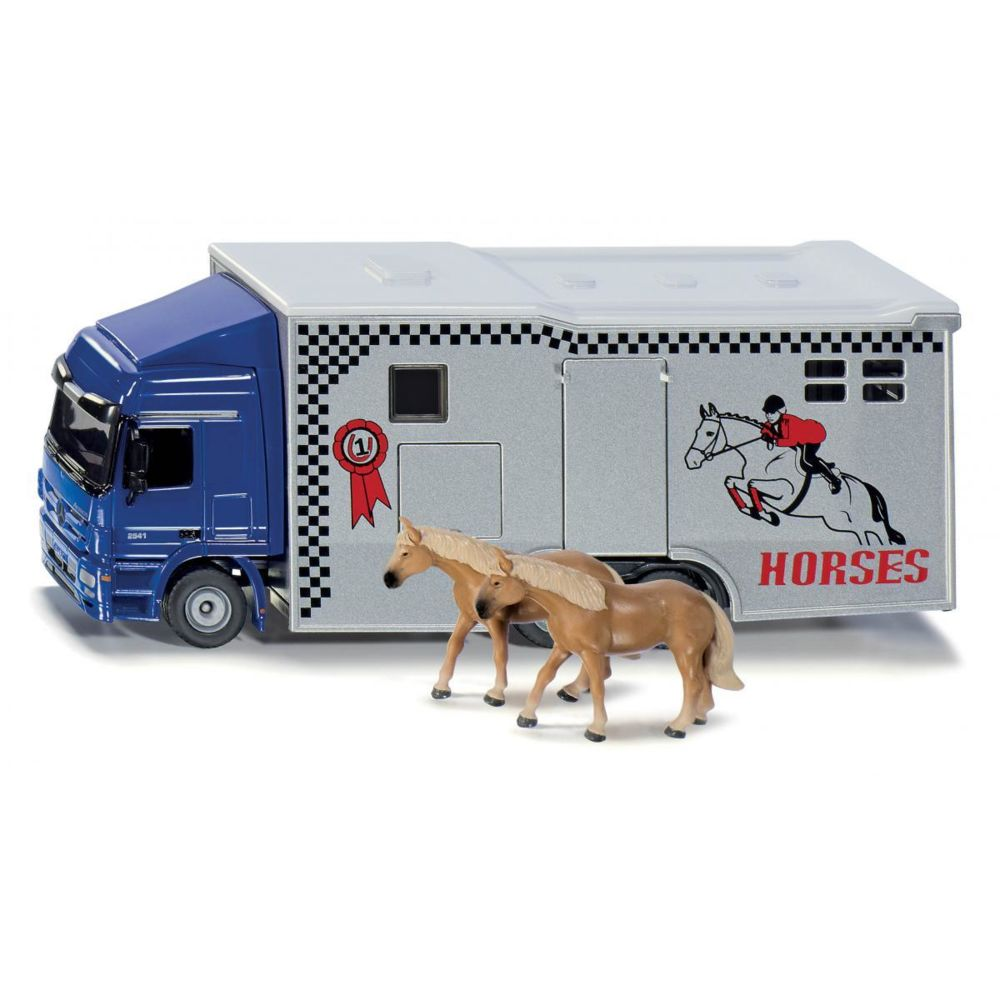 SIKU Camion transport chevaux