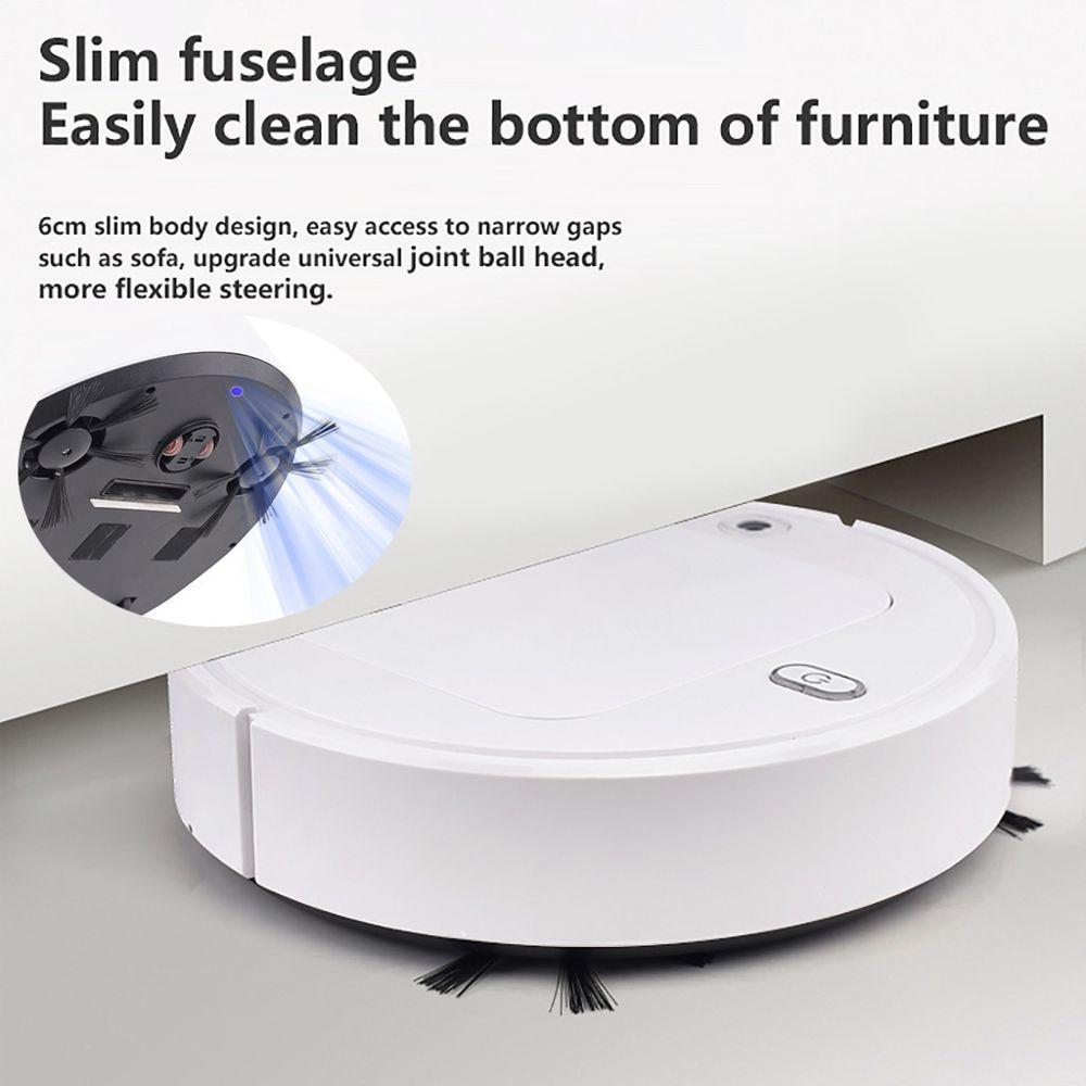 Generic Mini appareils ménagers de robot aspirateur chargeant la balayeuse avec une lampe de désinfection @7e edition1