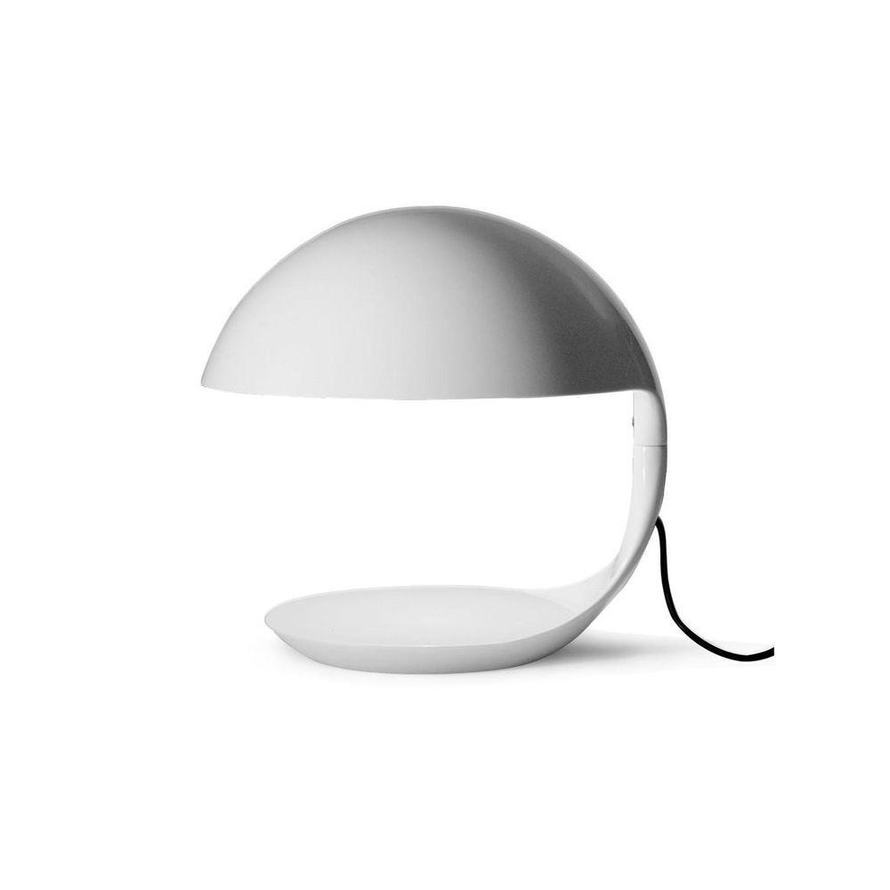 Martinelli Luce COBRA-Lampe à poser H40cm Blanc Martinelli Luce - designé par Elio Martinelli