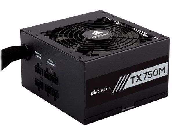 Corsair TX850 750W - 80 Plus Gold
