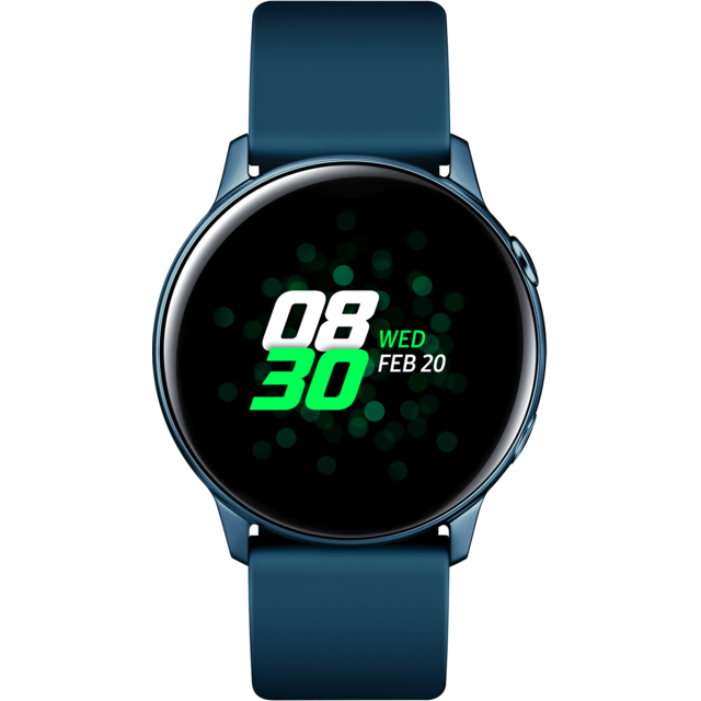 Samsung - Galaxy Watch Active - Vert Emeraude - 40 mm - Objets connectés
