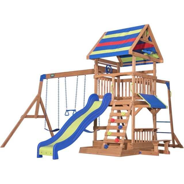Backyard Discovery - Playset Northbrook -Backyard Discovery  - Aire de jeux