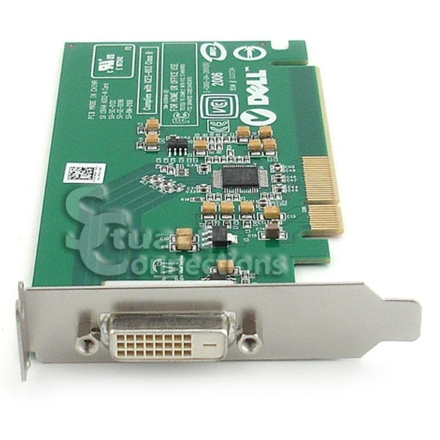 Dell - Carte Adaptateur Dell Sil1364A 0FH868 PCI-Express x16 DVI ADD2-N Low Profile Dell   - Carte Graphique