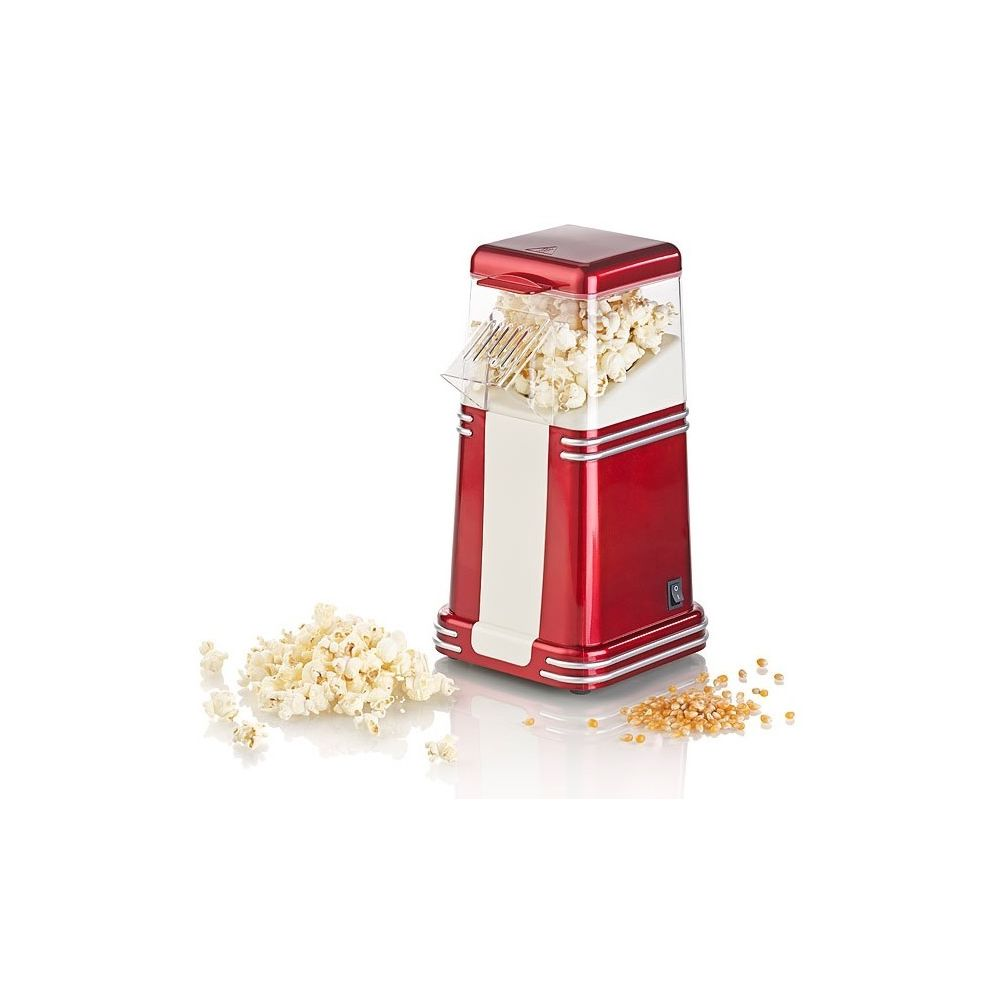 Rosenstein & Sohne Machine à pop-corn à air chaud design rétro