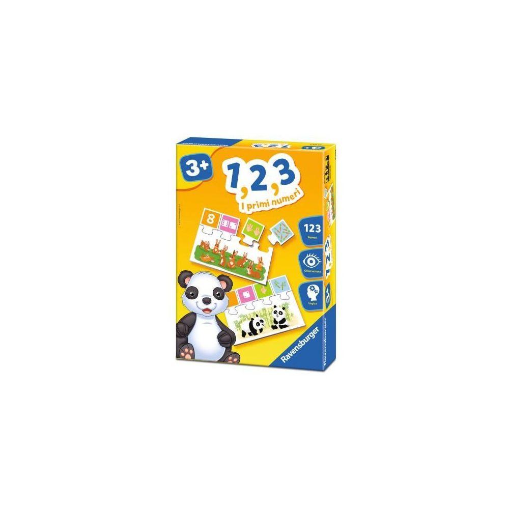 Ravensburger RAVENSBURGER 1,2,3 Jeu - Les premiers chiffres - Jeux pour enfants