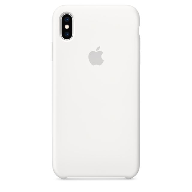 Apple - iPhone XS Max Silicone Case - Blanc - Accessoire Smartphone Iphone xs max