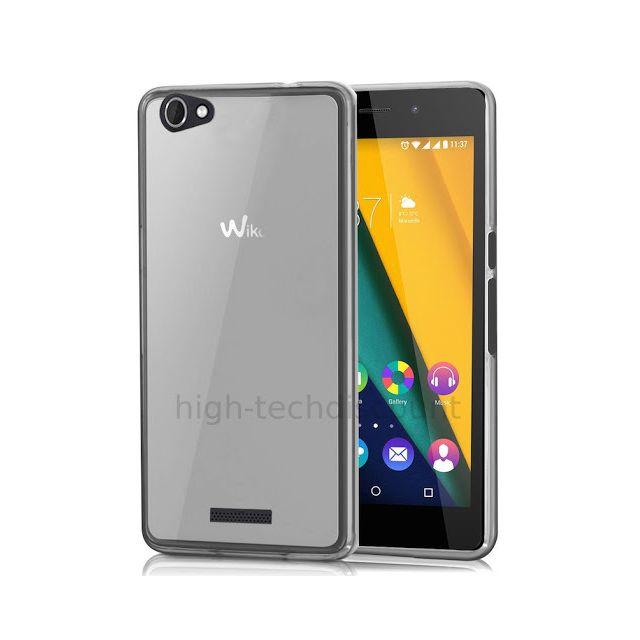 Housse etui coque pochette silicone gel fine pour Wiko Pulp Fab 4G film ecran(...)