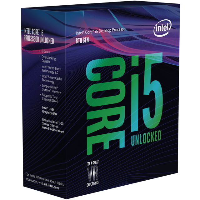 Intel - Core i5 8400 - 2,8/4,0 GHz - Processeur INTEL